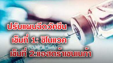 Photo of เผย คณะกรรมการโรคติดต่อแห่งชาติ เห็นชอบฉีดวัคซีนสลับชนิด